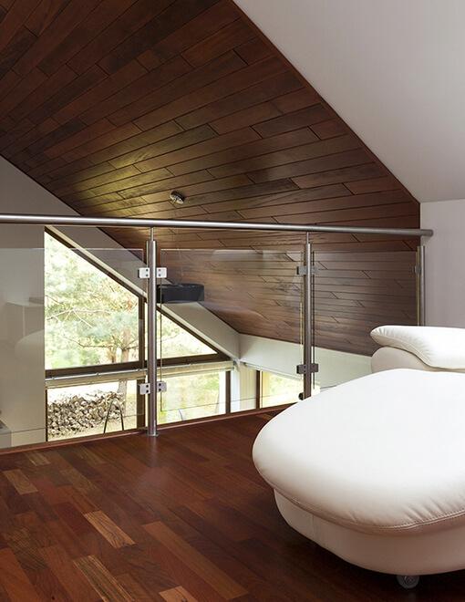Podłogi warstwowe z drewna egzotycznego